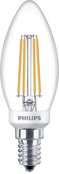 Philips Filament Classic LEDcandle D 5-40W E14 827 B35 CL