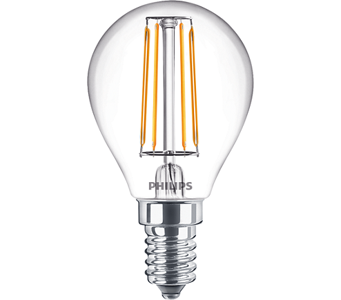 Philips Filament Classic LEDluster ND 4.3-40W E14 827 P45 CL