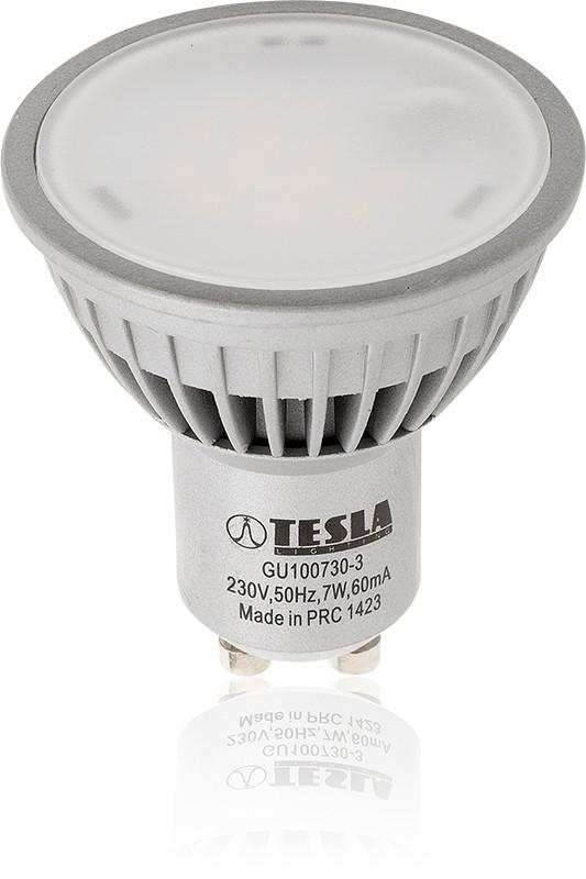 Tesla - GU100730-3 LED Bulb GU10, 7W, 3000K