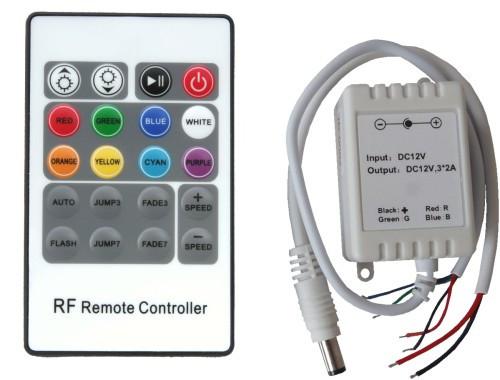 Ovladač RGB-12/24VDC-LED
