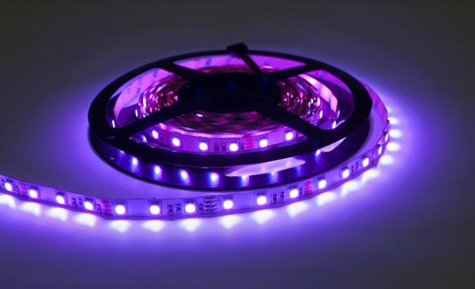 Esolite - LED pásek 5m, 12V DC, 14,4W/m, RGB barevný