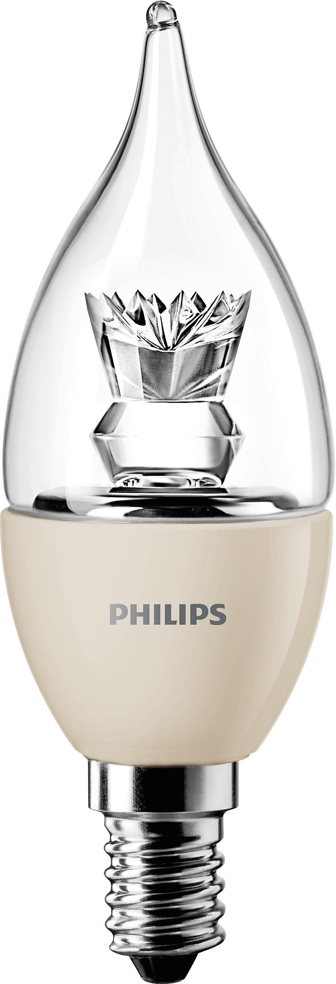 Philips MASTER LEDcandle D 4-25W E14 827 BA35 CL