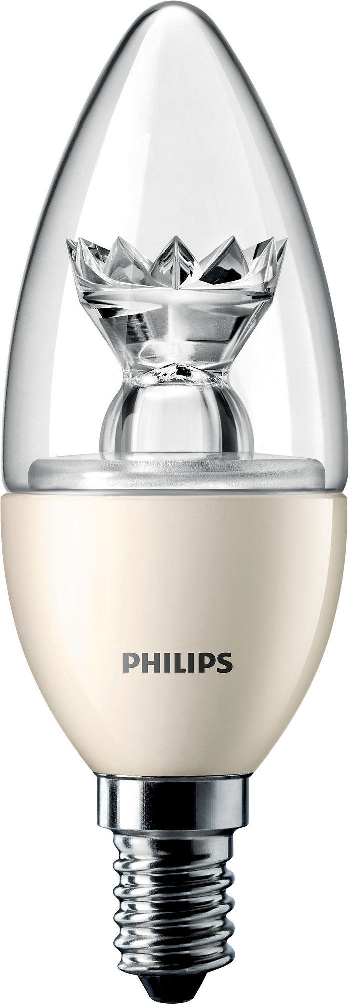 Philips MASTER LEDcandle D 6-40W E14 827 B39 CL