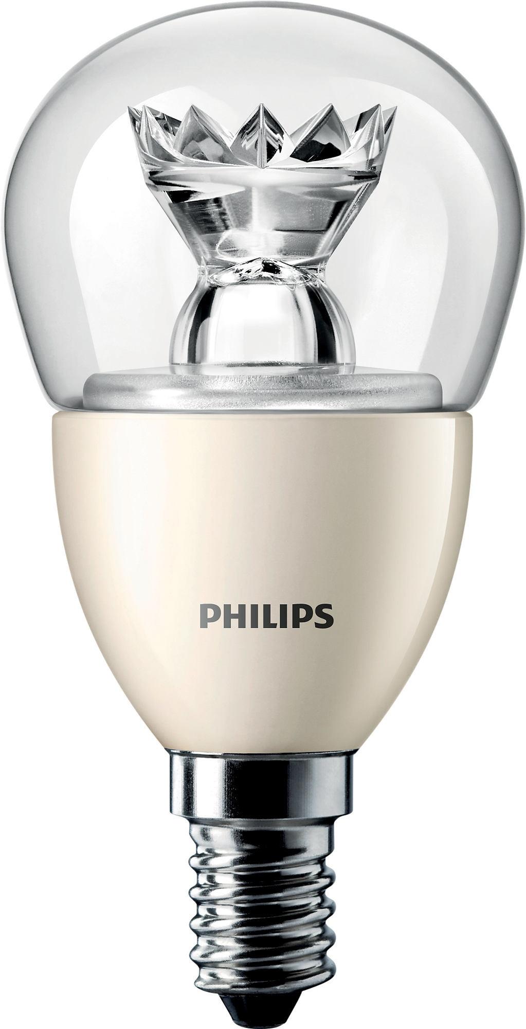 Philips MASTER LEDluster D 6-40W E14 827 P48 CL