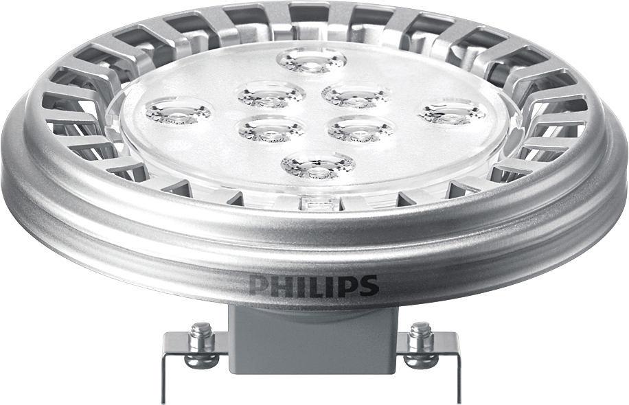 Philips MASTER LEDspotLV AR111 15-75W 2700K 24D