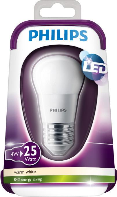 Philips LEDbulb 4-25W E27 WW P45 Fr