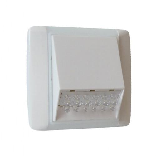 OS-P-W12ET bílá/ledová bílá