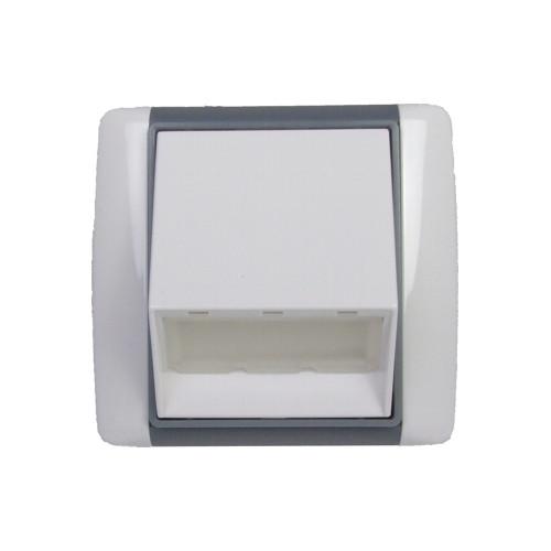 OS-P-W4ET bílá/ledová šedá