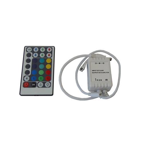 Ovladač RGB-12VDC-3x2A-IR-28T