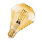 Osram Vintage 1906 LED CL DIAMOND FIL GOLD 40 non-dim 4,5W/825 E27