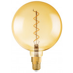 Osram Vintage 1906 LED CL GLOBE200 FIL GOLD 28 non-dim 5W/820 E27