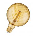 Osram Vintage 1906 LED CL PINECONE FIL GOLD 40 non-dim 4,5W/825 E27