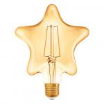 Osram Vintage 1906 LED CL Star FIL GOLD 40 non-dim 4,5W/825 E27