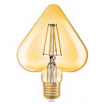 Osram Vintage 1906 LED CL HEART FIL GOLD 40 non-dim 4,5W/825 E27