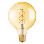 Osram Vintage 1906 LED CL GLOBE125 FIL GOLD 25 non-dim 5W/820 E27