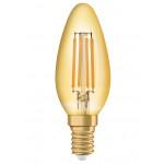 Osram Vintage 1906 LED CL B FIL GOLD 36 non-dim 4,5W/825 E14