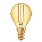 Osram Vintage 1906 LED CL P FIL GOLD 13 non-dim 1,4W/825 E14