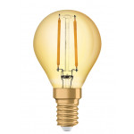 Osram Vintage 1906 LED CL P FIL GOLD 22 non-dim 2,5W/825 E14
