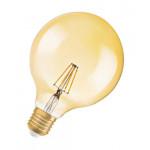 Osram Vintage 1906 LED D CL GLOBE125 FIL GOLD 51 D 6,5W 824 E27