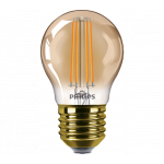 Philips Filament Classic LEDluster D 5-32W P45 E27 822 GOLD