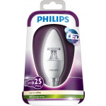 Philips LEDbulb 4-25W E14 WW B35 CL