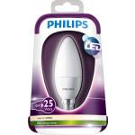 Philips LEDbulb 4-25W E14 WW B35 Fr
