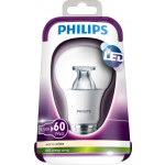 Philips LEDbulb 9,5-60W E27 WW A60 CL