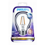 Philips LEDbulb Filament 7.5-60W E27 WW A60 CL